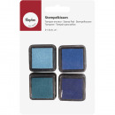 Mini Stamp Pad Set - Boys, 4 pieces