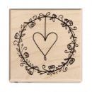 Stamp wedding wreath,