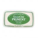 StazOn pigment ink pad, dark green,