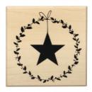 nagyker Otthon és dekoráció: Levelek bélyeg koszorú csillaggal,