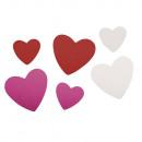 Crepla stampings harten, veelkleurig, 100 stuks