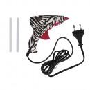 Mini-Heißklebepistole, Zebra, 1 Stück