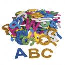 Foam Alphabet Glitter, 130 pieces
