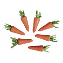 wholesale Toiletries: Cotton carrot, 30 mm, 7 pieces