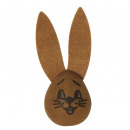 wholesale Toiletries: Cotton head: rabbit with felt ears, 2 pieces