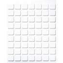 3-D adhesive plates, 63 pieces