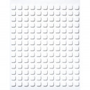 3-D adhesive plates, 154 pieces