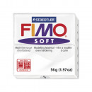 Fimo soft modeling clay, white, 57 g