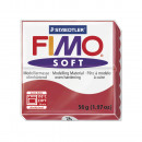 Fimo soft modeling clay, cherry red, 57 g