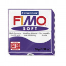 Fimo soft modeling clay, plum, 57 g