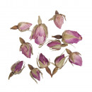 Flowers - Rosebuds pink whole, 7 g