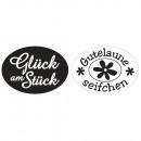Labels Glück am St., Good Luck S., 2 Pieces