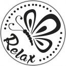 Label Relax, 45mm ø, 1 piece