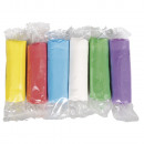 Kneading chalk 6x125g, 750 g