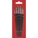wholesale Painting Supplies: Art hair brush set, 6 pieces