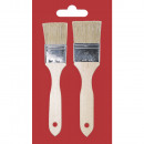 wholesale Painting Supplies:Flat brush set, 2 pieces