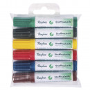 Fabric crayon set, short version, 6 pieces