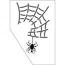 Paint-Me stencil spider, 1 piece