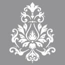 Brocade stencil, 1 piece