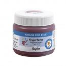 Finger paint, earth brown, 150 ml