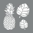 Stencil Tropical, 2 pièces