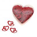 Sequin spreidende delen: dubbel hart,