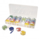 Storage box for seed beads,