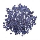 Cekiny, wypukłe, 6mm ø, średni niebieski, 6 g