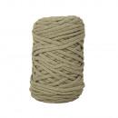 Braidy recycling yarn, braided, 4mm ø, schil