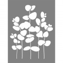 Stencil eucalyptus, 1 piece