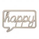 Fa betűtípus beszédbuborékban boldog, tükör, 1 dar