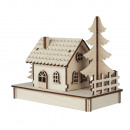 wholesale Blocks & Construction: Wooden kit house x1, FSC 100%, 1 set