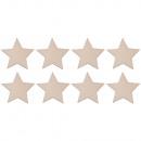 Houtverstrooiende sterren, FSC100%, 5, 5cm ø, 8 st