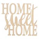 Holzschrift Home édes Home FSC100%, természetes, 1
