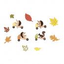 części rozpraszające H jeż, wiewiórka, liście, kol