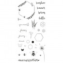 Clear Stamps - Summer Bee, 1 sheet