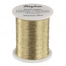 Elastic thread, gold, 50 m
