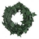 Mini ghirlanda di edera, verde scuro, 3 m