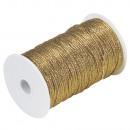 Cordone d'oro, 1 mm ø, oro, 100 m