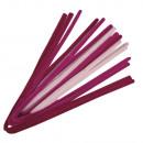 Chenille wire mixture, rosé, 10 pieces