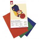 Craft felt 10 colors assorted , mixed, 1 set
