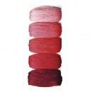 Cotton Yarn Stitch & Knot, cherry red, 50 m