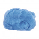 Pure new wool, light blue, 50 g
