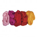 Pure new wool - combed train, 125 g