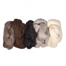 Pure new wool - worsted, 125 g
