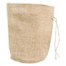 mayorista Maletas y articulos de viaje: Bolsa de yute con fondo redondo, 14cm ø,