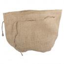 mayorista Maletas y articulos de viaje: Bolsa de yute con fondo redondo, 21cm ø,