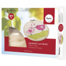 Kit d'artisanat: Broderie Love Birds, 13cm ø,