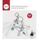 Bastelpackung: Porte-clé étoile, 1 pièce