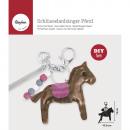 Bastelpackung: Keychain horse, 1 piece